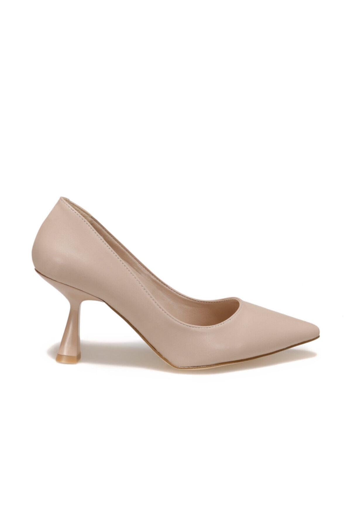Butigo 20k-550 Nude Kadın Topuklu Ayakkabı 1