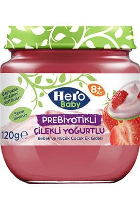 Hero Baby Prebiyotikli Çilekli Yoğurtlu 120 gr  6 Adet
