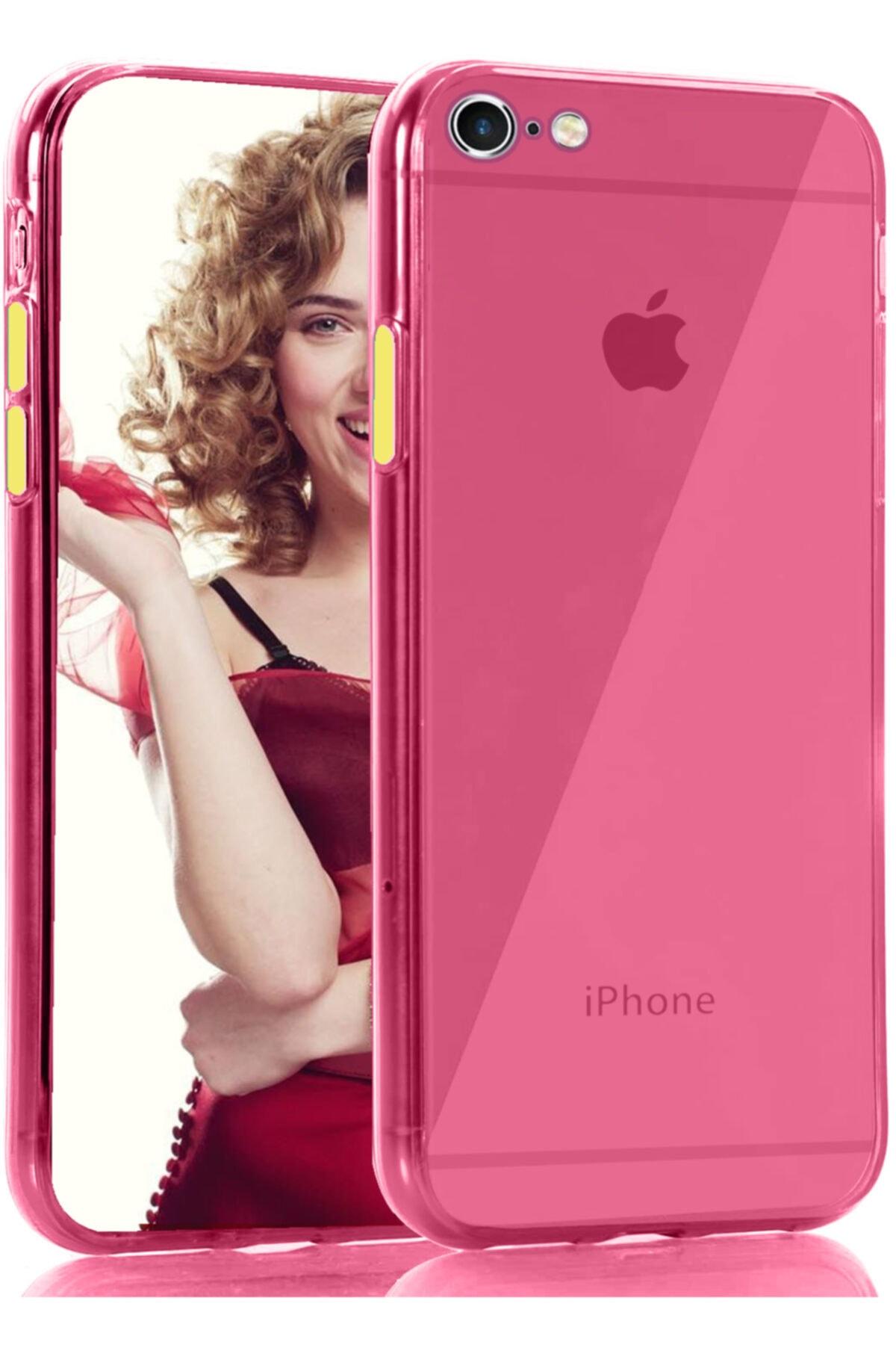 zore Apple Iphone 8 Kılıf Pastel Renkli Esnek Ince Şeffaf Kapak 1