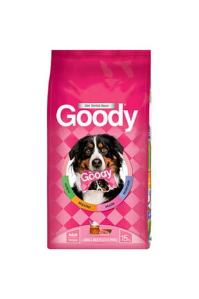 Goody Kuzu Etli Pirinçli Köpek Maması 15 Kg