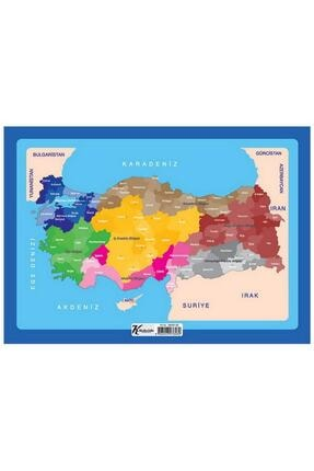 KESKİN COLOR Keskin 99 Parça 25x35 Cm Puzzle Çerçeveli Türkiye (260281-99)