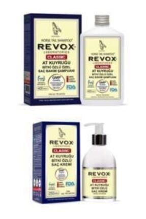Revox Saç Dökülmesini Engelleyen At Kuyruğu Bitki Özlü Şampuan Ve Saç Kremi