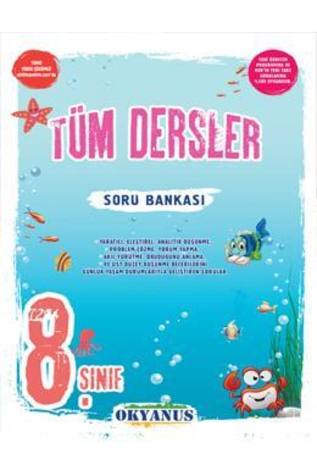 Okyanus Yayınları 8. Sınıf Lgs Tüm Dersler Soru Bankası 1