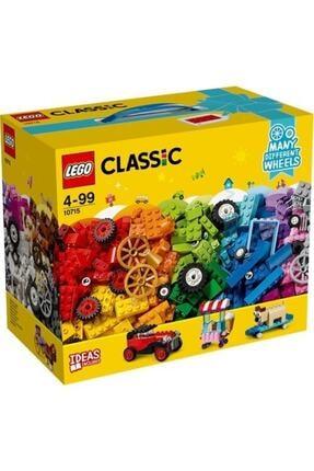 LEGO Classic Tekerlekli Yapım Parçaları 442 Parça