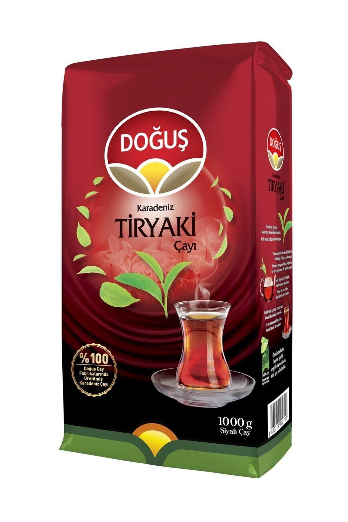 Doğuş Karadeniz Tiryaki Dökme Siyah Çay 1000 gr 1