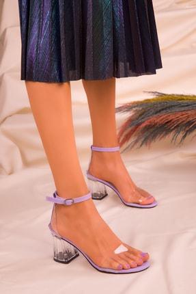 SOHO Lila Kadın Klasik Topuklu Ayakkabı 16132