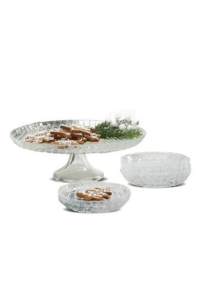 Karaca Lozange Tatlı Kutu/Pasta Takımı