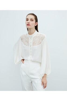 İpekyol Dantel Detaylı Bluz