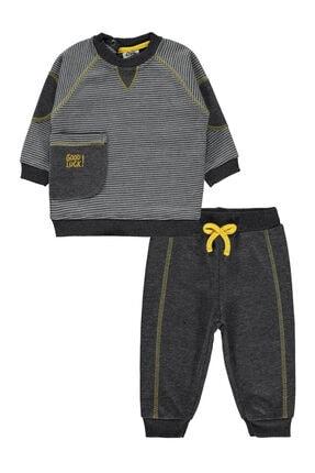 Civil Baby Erkek Bebek Takım 6-18 Ay Antrasit