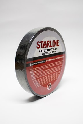 Starline Kaydırmaz Bant Siyah 25mmx15mt