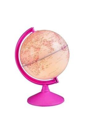 Rüya Gezegeni Işıklı Pembe Dünya Küresi 20cm -