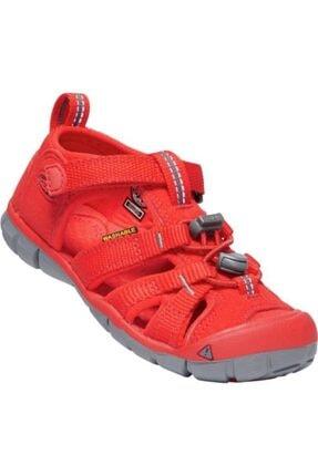 Keen Unisex Çocuk Kırmızı Sandalet