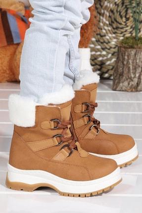 Vicco 946.21k.240 Alexis Içi Termal Kürk Bağcıklı Kız Çocuk Bot Ayakkabı