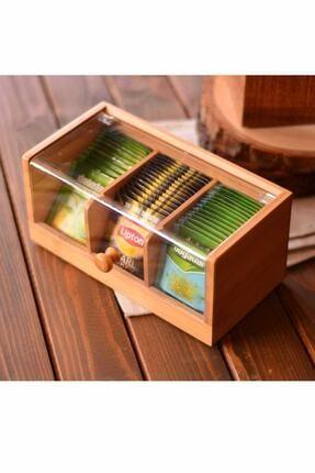 Bambum Gio – 3 Bölmeli Çay Kutusu