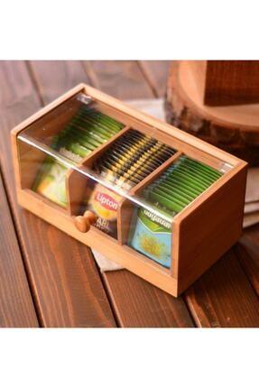 Bambum Gio 3 Bölmeli Çay Kutusu
