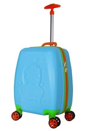 Wexta WX-410 Mavi Erkek Çocuk Valizi
