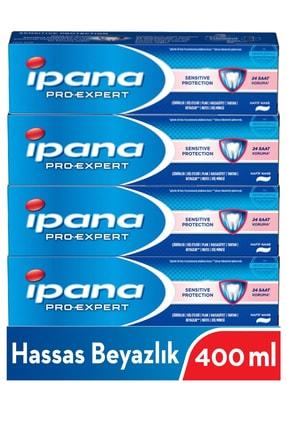 İpana Pro-expert Diş Macunu Hassas Beyazlık Nane 4x100 Ml