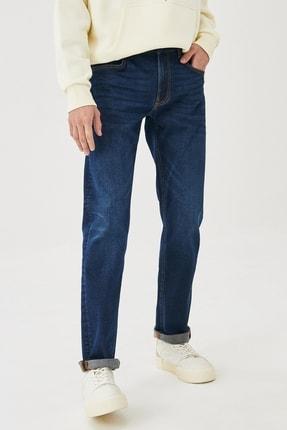 Lee Daren Straight Fit Normal Bel Denim Esnek Jean Kot Pantolon