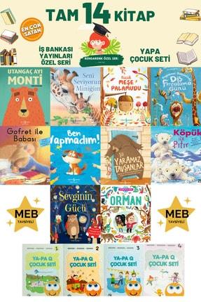İş Bankası Kültür Yayınları Utangaç Ayı Monti-seni Seviyorum Miniğim-küçük Meşe Palamudu Tam 10 Kitap Evon Tonguç Tudem