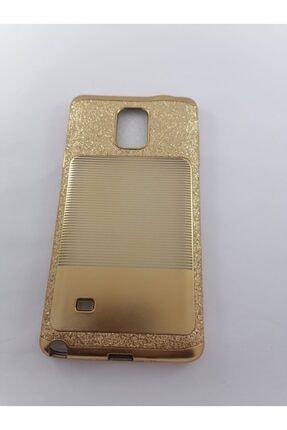 Penguen Samsung Galaxy Note 4 Lüks Gold Kılıf