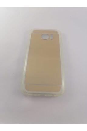 Penguen Samsung S7 Aynalı Gold Kılıf
