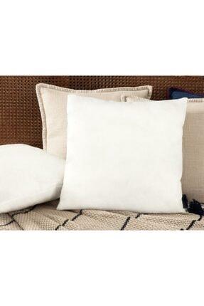 Madame Coco Raina Kırlent Yastık - 33x50 Cm - Beyaz