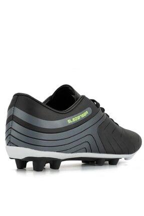 Slazenger Hans Krampon Futbol Erkek Ayakkabı Siyah / K.gri