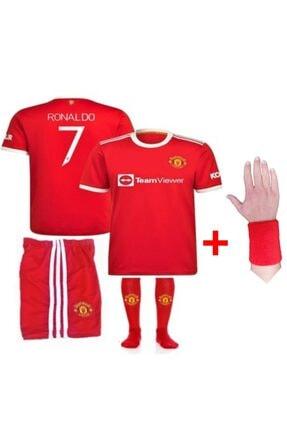 Hane Forma Şort Çorap Ronaldo Manchester United 2021-22