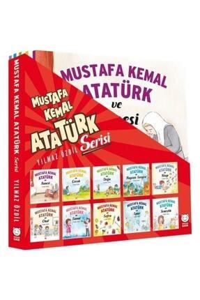 Kırmızı Kedi Mustafa Kemal Atatürk Serisi 10 Kitap Takım
