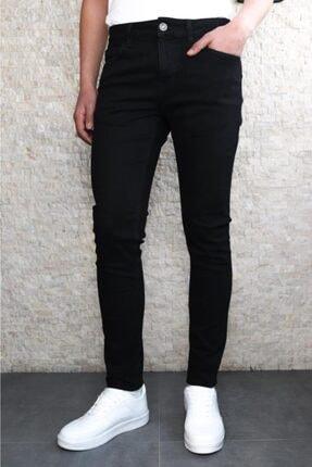 HLT JEANS Erkek Siyah Slim Fit Pantolon Hlt He001937