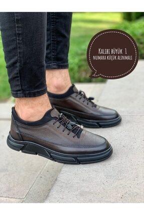 AKM ROYAL Hakiki Deri Ortopedik Kışlık Erkek Ayakkabı 00601
