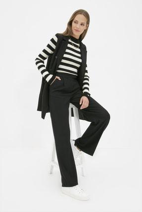 Trendyol Modest Siyah Geniş Paça Pantolon TCTAW22TP0026