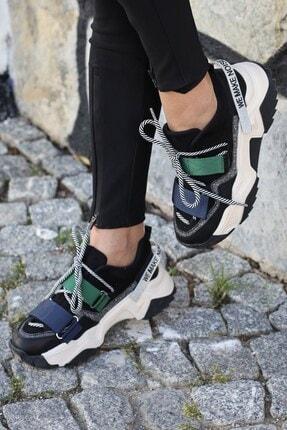 Tinka Bell Shoes Kadın Siyah Spor Ayakkabı Multi 65140