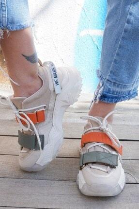 Tinka Bell Shoes Kadın Bej Spor Ayakkabı 65140