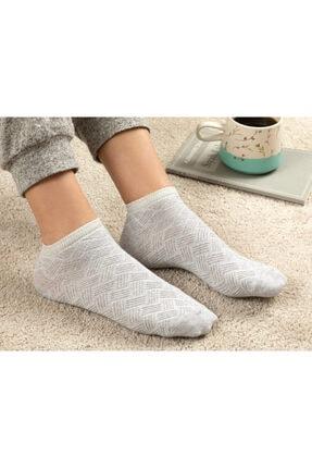 English Home Silvery Pamuk Kadın Çorap Gri