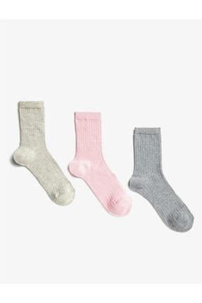 Koton 3'lü Kadin Çorap