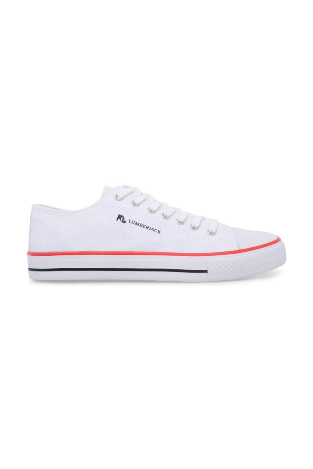 lumberjack MAXWELL Beyaz Erkek Kalın Taban Sneaker Spor Ayakkabı 100506839 1