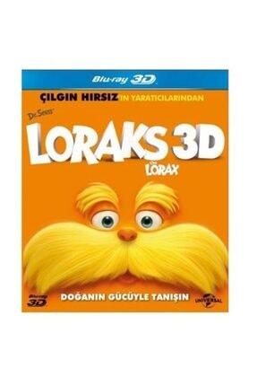 plakmarketi 3dblu Ray - Dr. Seuss' The Lorax (Çılgın Hırsız'ın Yaratıcılarından)