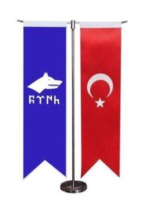 d&d plus Türk Bayrağı ve Göktürk Kağanlığı Masa Bayrağı