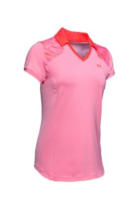 Under Armour Kadın Spor T-Shirt - UA Zinger Blocked Polo - 1350158-691