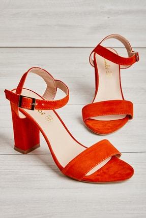 Bambi Turuncu Kadın Topuklu Ayakkabı L05037400