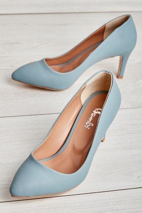Bambi Kot Mavi Kadın Casual Ayakkabı L05754000
