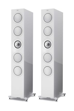 Kef R11 Kule Tipi Pasif Hifi Hoparlör (2'li Set) Beyaz