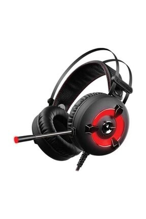 Rampage Miracle-X2 Kırmızı Led 7.1 Surround Sound System Mikrofonlu Oyuncu Kulaklığı