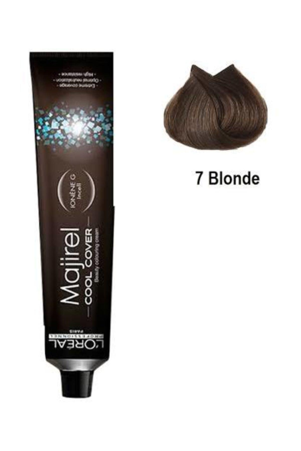 L'oreal Professionnel Majirel Cool Cover Yoğun Beyaz Kapatıcı Saç Boyası 7 Kumral 50ml 1
