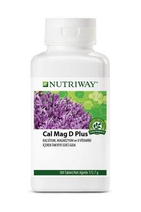 Amway Calcium Magnesium D Plus Nutrıway™-180tablet