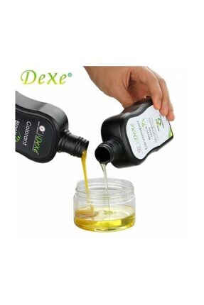 Dexe 2 Set Kampanyalı - Saç Renklendirici Şampuan 200 Ml+200 Ml Siyah Saç Bakım Beyazlık Giderici