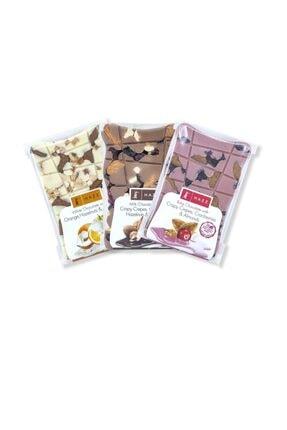 HAZZ Tablet Çikolata Seti (sütlü, Rubyli, Beyaz)