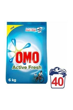 Omo Matik Toz Çamaşır Deterjanı Active Fresh 40 Yı