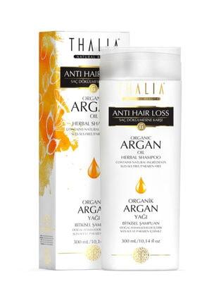 Thalia Doğal Argan Yağlı Saç Dökülmesine Karşı Etkili Şampuan - 300 Ml